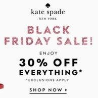 Kate Spade NEW YORK美国官网 黑五促销
