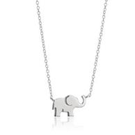 Prime会员:Amazon Collection 小象纯银项链