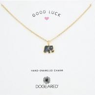 Prime会员:Dogeared Good Luck 搪瓷珐琅小象项链