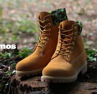 Timberland 天木兰×atmos 联名 6 INCH 男士工装靴