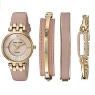 Anne Klein 女士镶钻手表套装