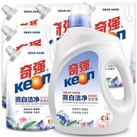 24斤!天猫超市 Keon 奇强洗衣液2kg瓶装+2kg*5袋装