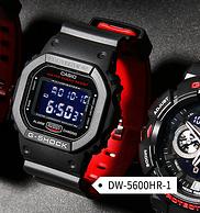 CASIO 卡西欧 G-SHOCK系列 DW-5600HR-1 男子运动表