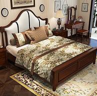 美天乐 实木床 框架款 1.8*2m 1799元