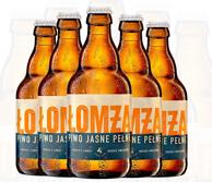 波兰原装进口: lomza 乐钻 拉格啤酒 330ml*6瓶