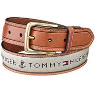 Tommy Hilfiger 汤米·希尔费格 男士logo 皮带