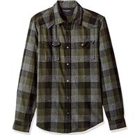 限M码:Calvin Klein Jeans 男士 格子衬衫