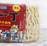 中國香港 NISSIN   出前一丁 紅燒牛肉味方便面 100g*5包 *5件