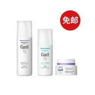 Curel 珂润 抗老紧致保湿系列套装(乳液120ml+化妆水140ml+面霜40g)
