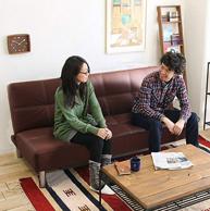 鹿枫 LFSF01 皮艺沙发床 1.65m