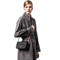 23日0點:黑卡會員,PRADA 普拉達 女士鏈帶單肩斜挎包