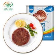 肯德基供应商 圣农 调理合成 黑椒牛排套餐120g*10片