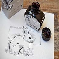 世界古老墨水之一!德国进口!Pelikan百利金 30ml 4001非碳素钢笔墨水 亮黑色