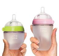 comotomo 可么多么 宽口径硅胶奶瓶 250ml+150ml