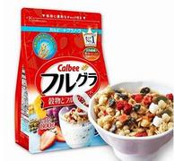 Calbee卡乐比 果仁谷物水果麦片 800g*3