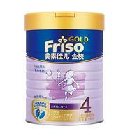 荷兰进口 Friso 美素佳儿 金装4段儿童成长配方奶粉900g