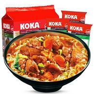 KOKA可口 新加坡进口咖喱素汤面340g*2