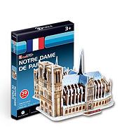 Prime会员:乐立方 3D立体拼图玩具 迷你建筑系列 巴黎圣母院