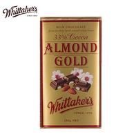 新西兰进口 Whittakers扁桃仁金装巧克力250g