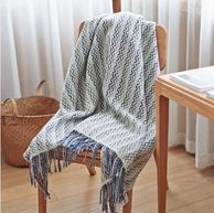 网易严选 100%美利奴羊毛盖毯设计师款