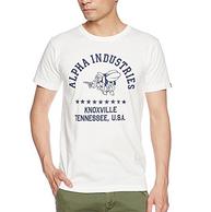 Prime会员,Alpha Industries阿尔法 男士纯棉T恤 凑单免费直邮到手约112元(国内代购200+)