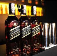 OHNNIE WALKER 尊尼获加 黑牌12年调配型苏格兰威士忌700ml*3