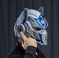 酷炫!prime会员,Transformers变形金刚 The Last Knight Optimus Prime 可变声擎天柱头盔