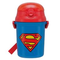 Prime会员:Skater 斯凯特 超人儿童吸管杯340ml SST3H