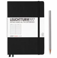 高端笔记本! LEUCHTTURM德国灯塔1917 硬封面 笔记本 大开型 A5 249页 *4件