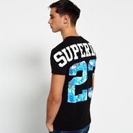 Prime会员:17年新款 Superdry 极度干燥 Big 23 纯棉印花短袖T恤 凑单免费直邮含税到手约83元(天猫319元)
