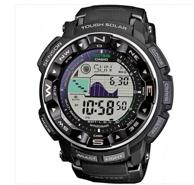 新低价!CASIO 卡西欧 PRW-2500-1CR 登山系列 男款电波表 154.99美元约¥1042.09