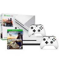 Microsoft微软 Xbox One S 500GB《战地 I》同捆版游戏主机+额外手柄+《幽灵行动荒野》套装
