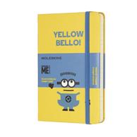 Moleskine 小黄人主题 口袋型横线笔记本