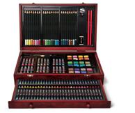 Prime会员: ART 101 142件 木质美术套件 *2件