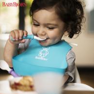 2只装,BABYBJORN 婴幼儿防漏食物围嘴