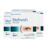 Refresh 抗疲劳滴眼液 30只*3 179元包邮包税(京东95元一件)