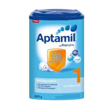 Aptamil 德国爱他美 婴儿奶粉 1段 800g*4罐 396元包邮 买手党-买手聚集的地方