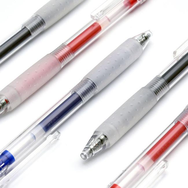 日本进口油墨!3支装 凯宝 kaco 经典中性笔 9.9元包邮 买二送一