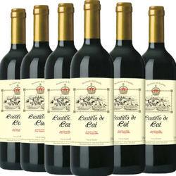 西班牙进口 凯恩城堡 半甜红葡萄酒750ml*6瓶*2件 凑单到手价99元 买手党-买手聚集的地方