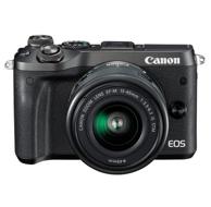 Canon佳能 EOS M6 搭配15-45广角镜头套装微单