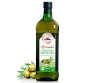 Plus会员:安达露西 特级初榨橄榄油 1L *5件