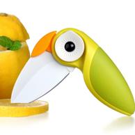 Artiart 鹦鹉折叠水果刀 绿色款*2件