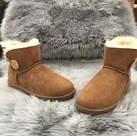 大白菜!UGG Australian Shepherd 女士单扣雪地靴