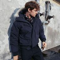 三级保暖!ESGUARD 男女防泼水羽绒夹克
