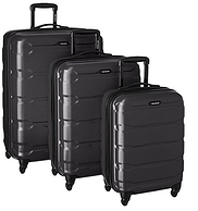 中亚Prime会员:Samsonite 新秀丽 Omni PC 硬壳黑色行李箱拉杆箱3件套 20/24/28寸