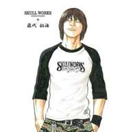 SKULL WORKS×TFOA 热血高校 藤代拓海拼色T恤