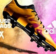 adidas 阿迪达斯 男子 足球鞋X 15.3 FG/AG