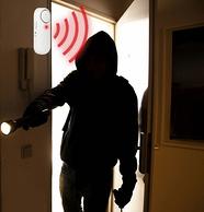 防贼防盗!阵泰安保 家用多功能门窗报警器