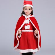 圣诞节 艺赫 儿童 小鹿披风 演出服装
