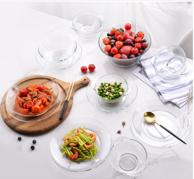 法国进口 Duralex 多莱斯 琥珀色6人餐具16件套 3色